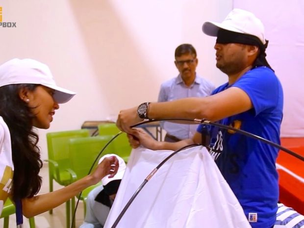 Blind Folded Tent Assembly 06