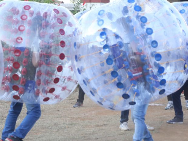 Bubble Zorb Wrestling